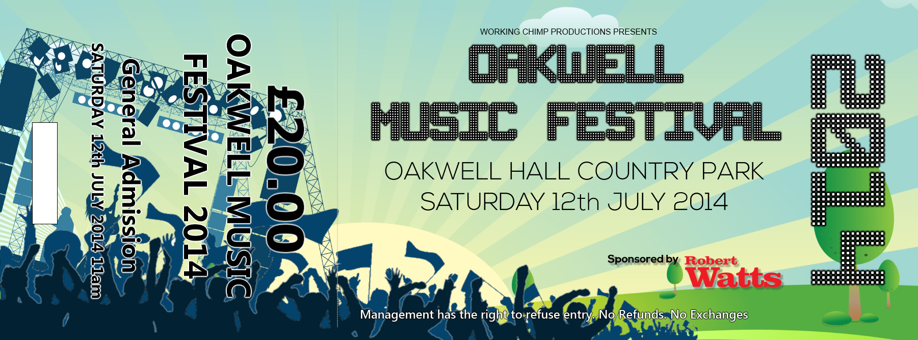 festival ticket full oakwell festival ticket store