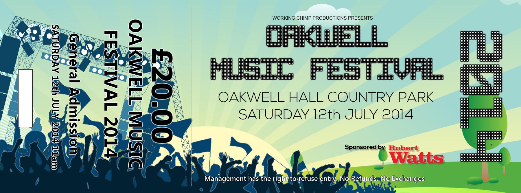 festival ticket full oakwell festival ticket store